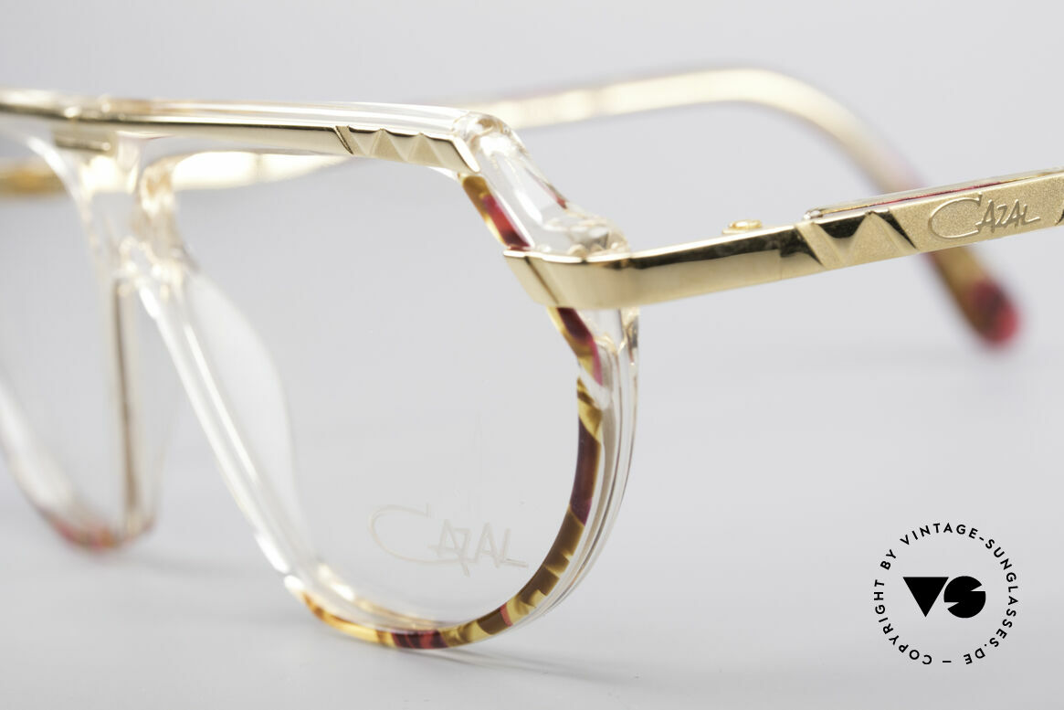 Cazal 344 Old School Crystal Glasses, the perfect accessory for every 90's Hip Hip outfit, Made for Women