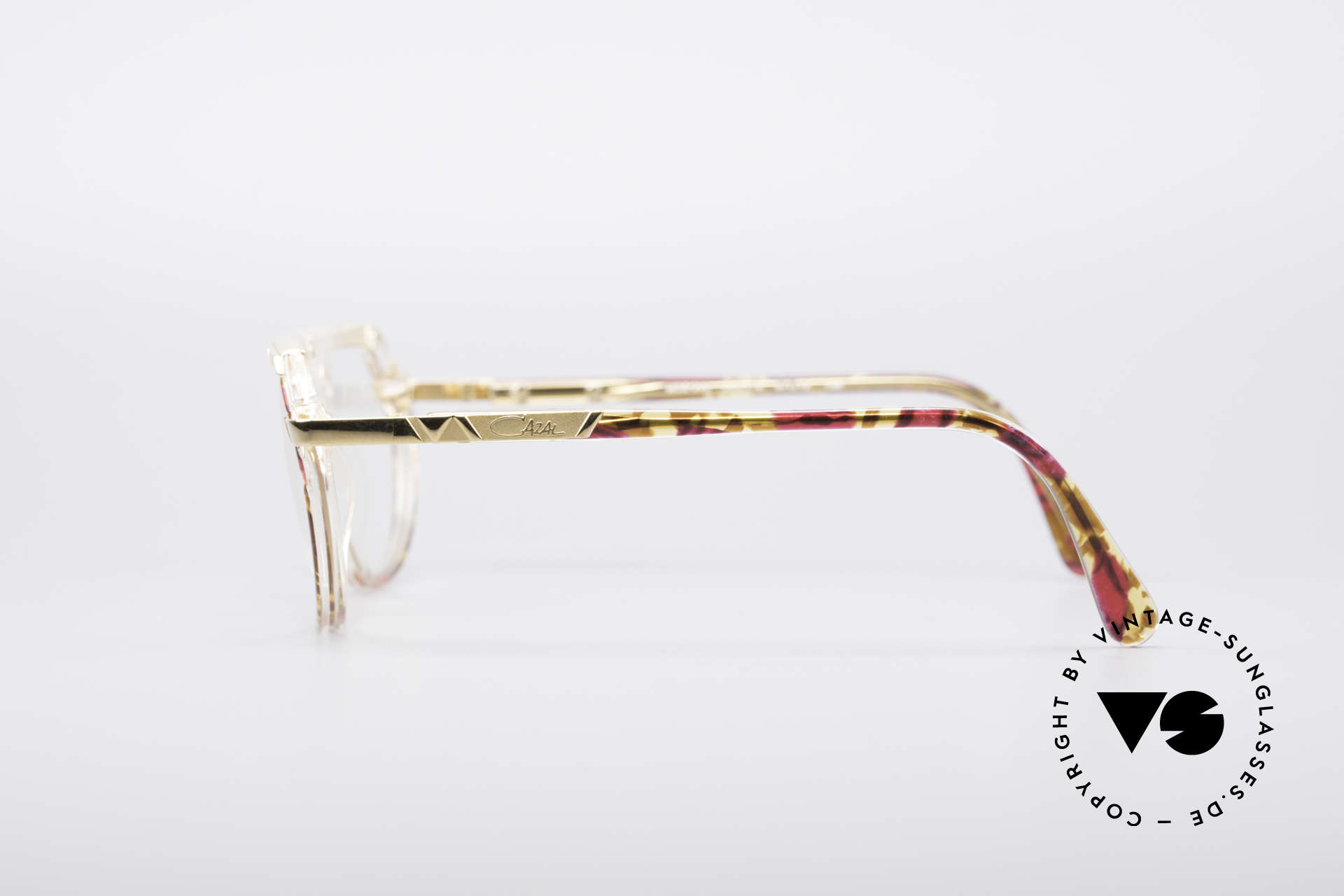 Cazal 344 Old School Crystal Glasses, never worn (like all of our vintage designer frames), Made for Women