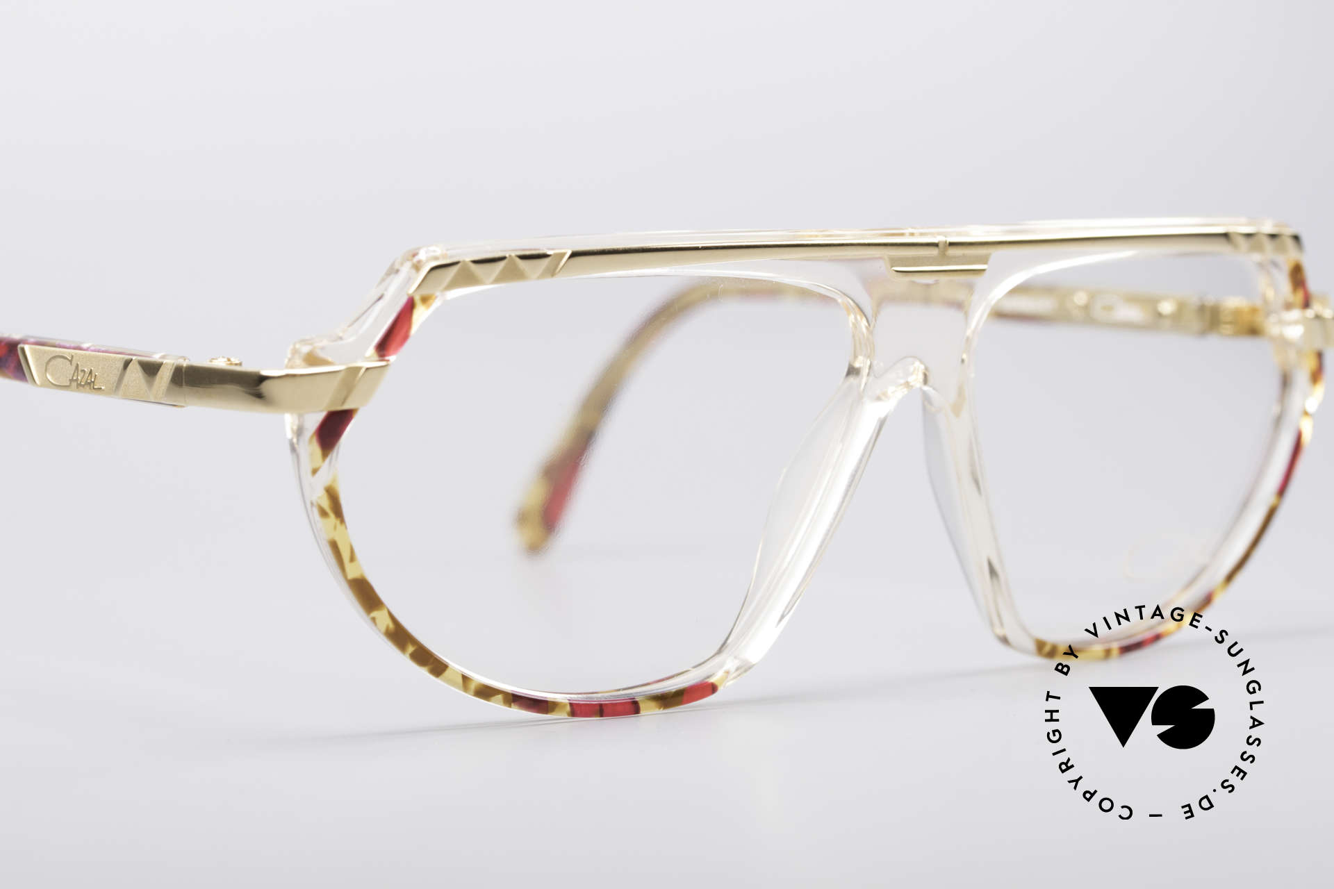 Cazal 344 Old School Crystal Glasses, NO RETRO EYEWEAR, but an old CAZAL ORIGINAL!, Made for Women
