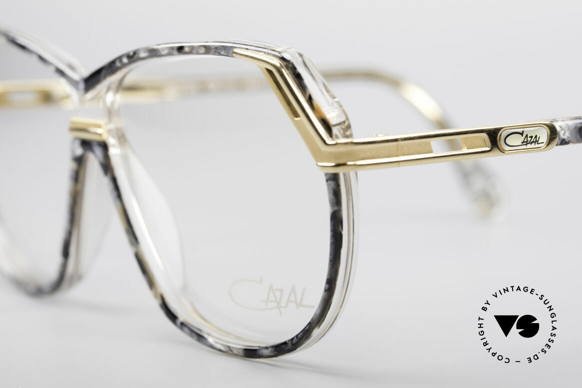 Cazal 339 No Retro 90's Vintage Specs, unworn, NOS (like all our vintage 90s Cazal), Made for Women