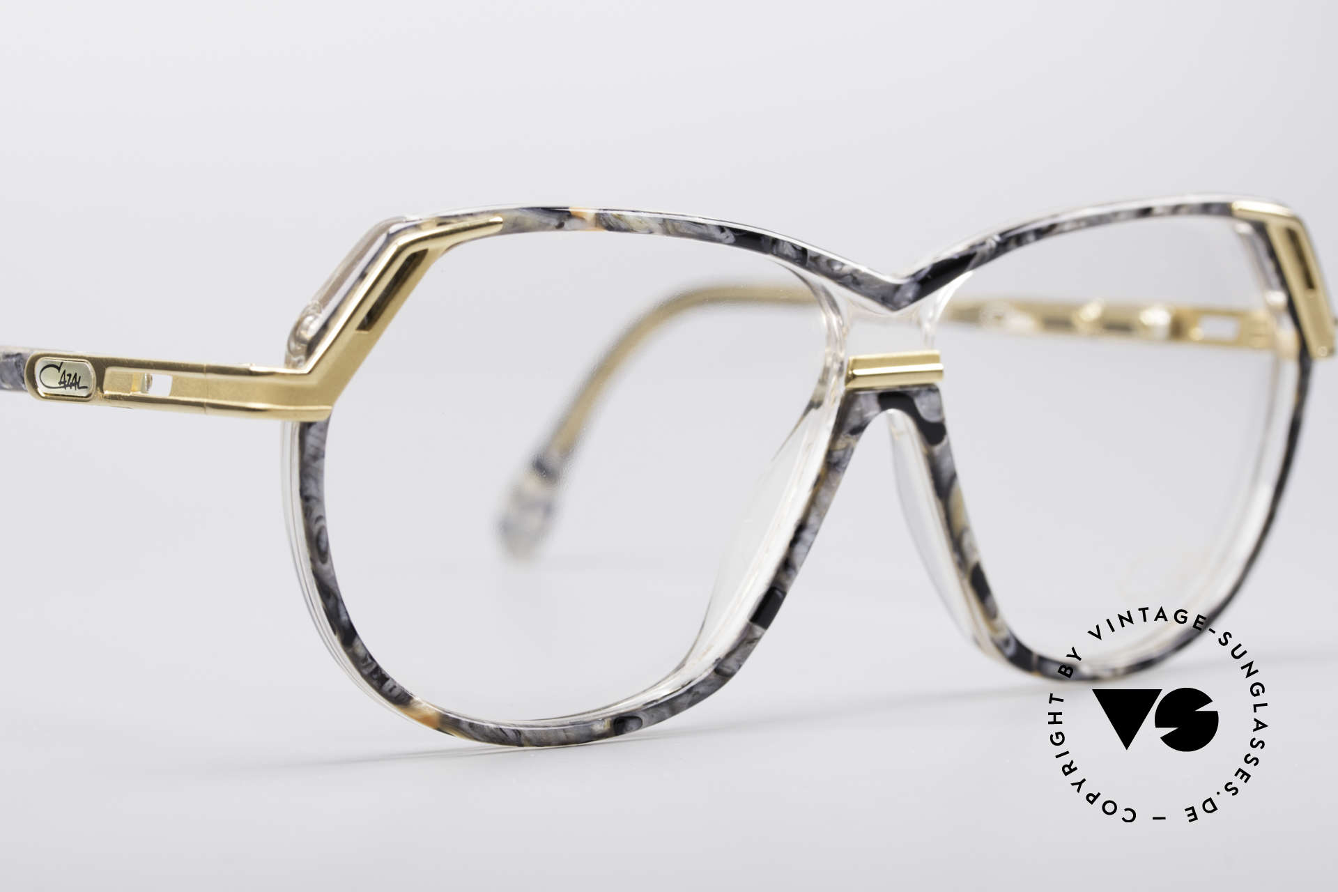 Cazal 339 No Retro 90's Vintage Specs, frame (M size 56/10) can be glazed optionally, Made for Women