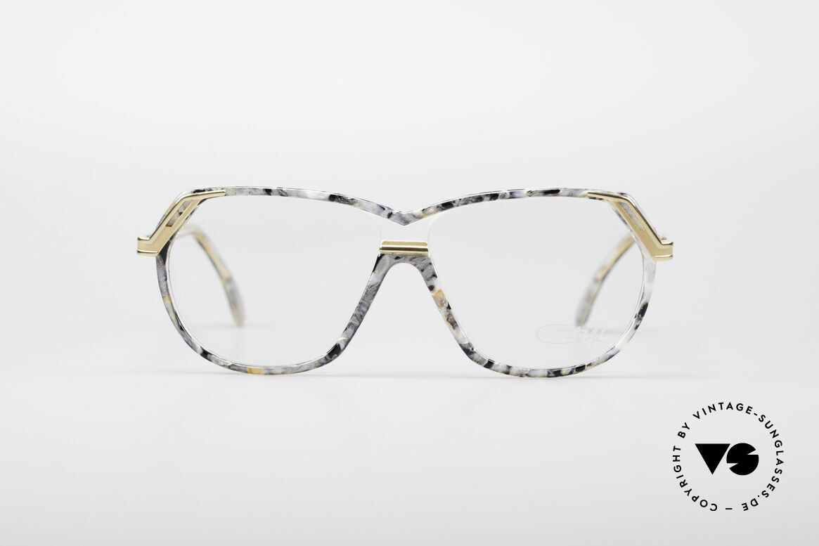 Cazal 339 90's Vintage Designer Specs, really impressive color effects in the frame, Made for Women