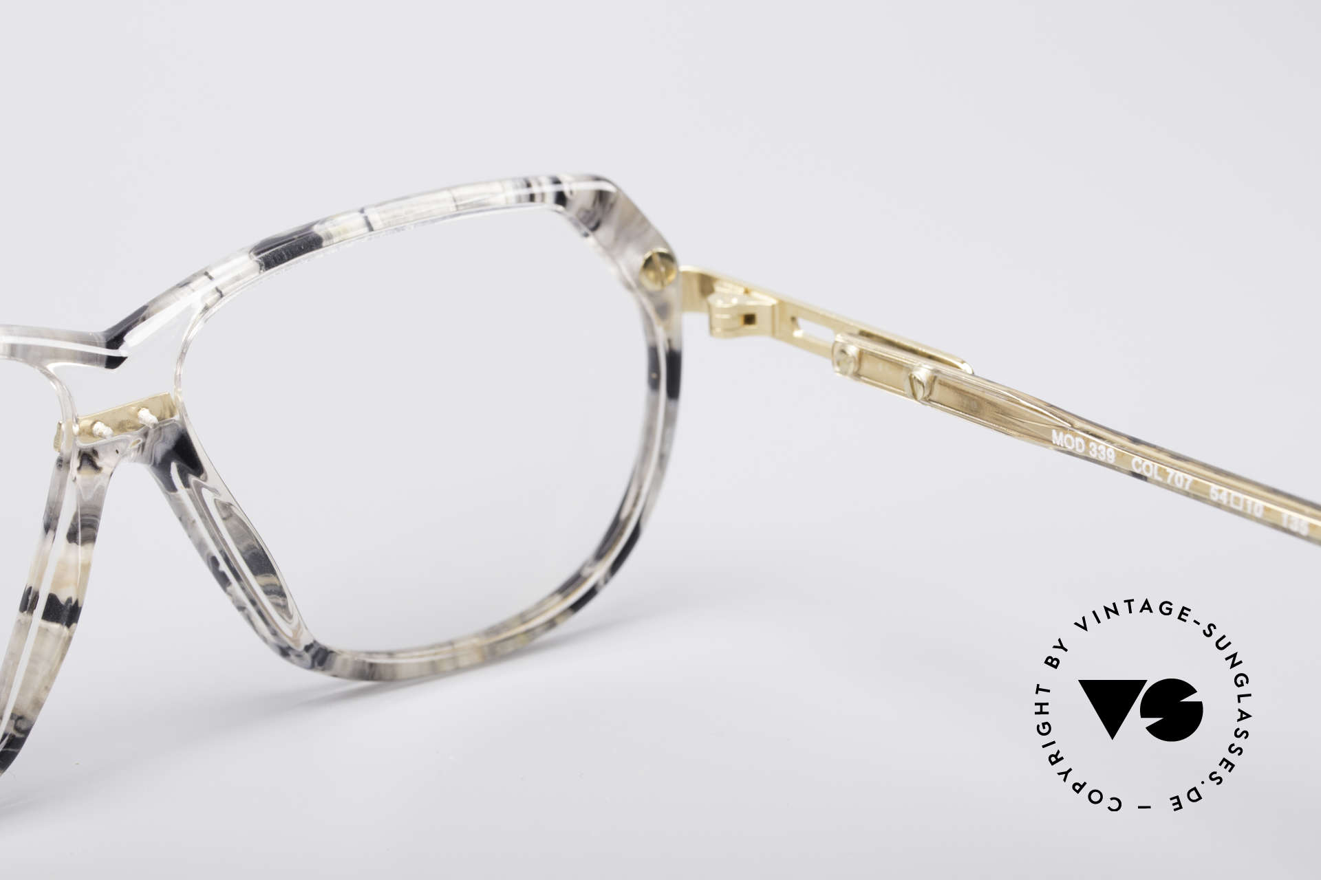 Cazal 339 90's Vintage Designer Specs, Size: small, Made for Women