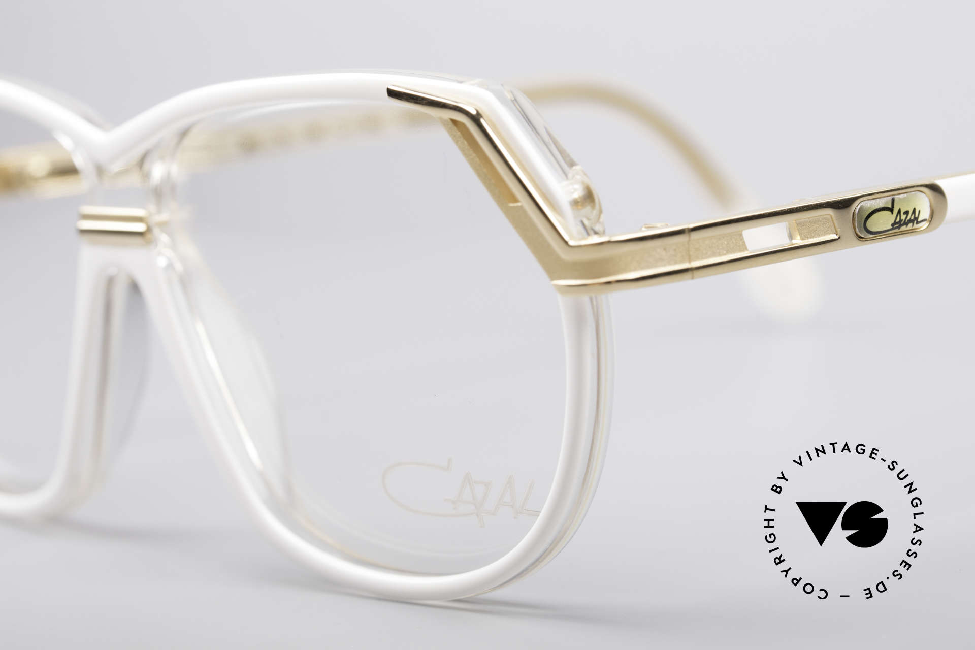 Cazal 339 90's Vintage Designer Specs, unworn, NOS (like all our vintage 90s Cazal), Made for Women