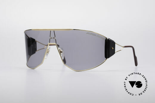 Alpina Goldwing 80's Celebrity Sunglasses Details