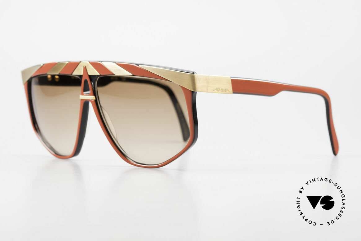 Alpina G82 Vintage Shades 80's Gold Plated, rare original from the 80's (handmade in W.Germany), Made for Men and Women