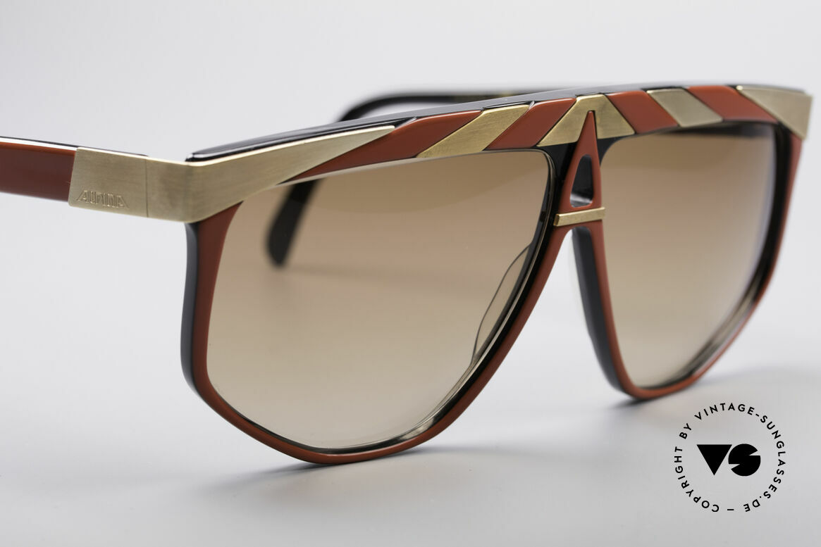 Alpina G82 Gold Plated Vintage Shades, unworn (like all our rare vintage ALPINA sunglasses), Made for Men and Women
