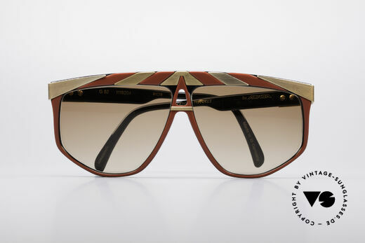 Alpina G82 Gold Plated Vintage Shades, NO RETRO fashion, but an unique original from 1985, Made for Men and Women
