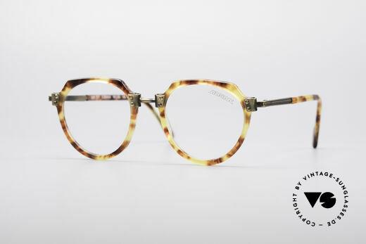 Alpina SCF 90's Vintage Panto Glasses Details