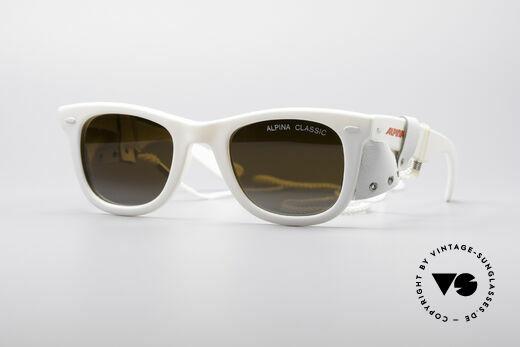 Alpina Classic Vintage Ski Sunglasses Details