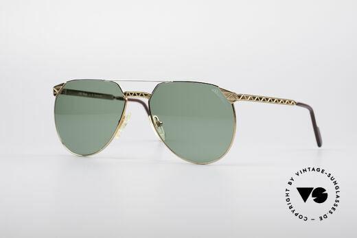 Alpina M42 80's Designer Sunglasses Details