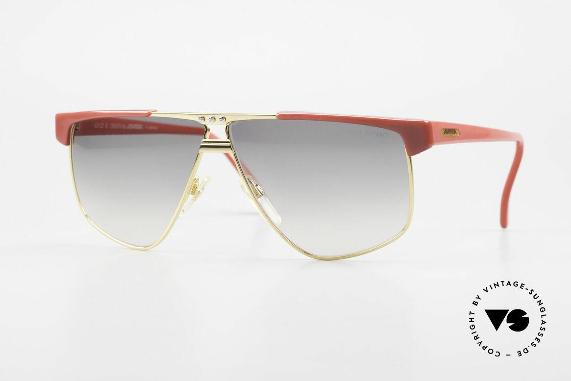 Alpina Targa Florio 33 Rallye Sunglasses Vintage 80's, expressive Alpina sports sunglasses from app. 1987, Made for Men and Women
