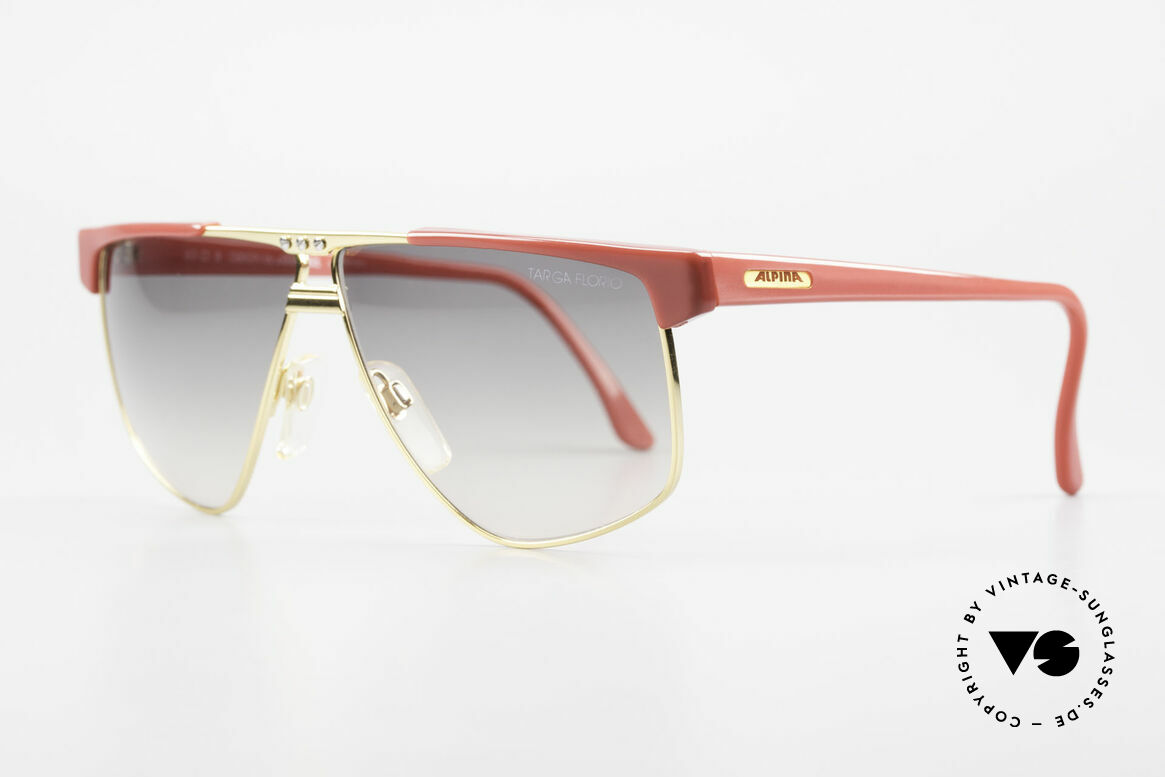Alpina Targa Florio 33 Rallye Sunglasses Vintage 80's, best materials and top-quality (100% UV protection), Made for Men and Women