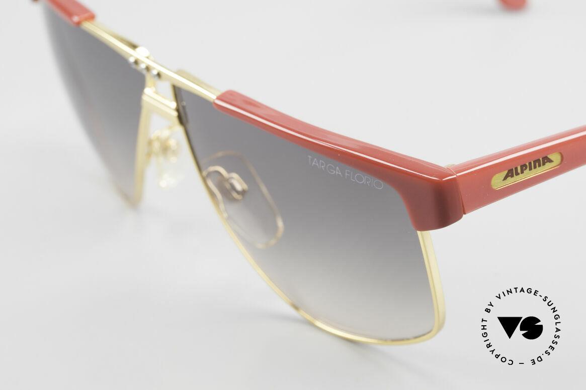 Alpina Targa Florio 33 Rallye Sunglasses Vintage 80's, never worn (like all our vintage Alpina sunglasses), Made for Men and Women