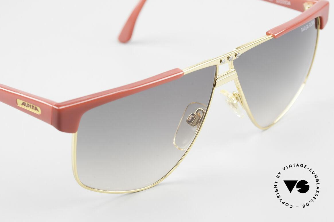 Alpina Targa Florio 33 Rallye Sunglasses Vintage 80's, NO RETRO shades, but a rare old original (size 63°8), Made for Men and Women