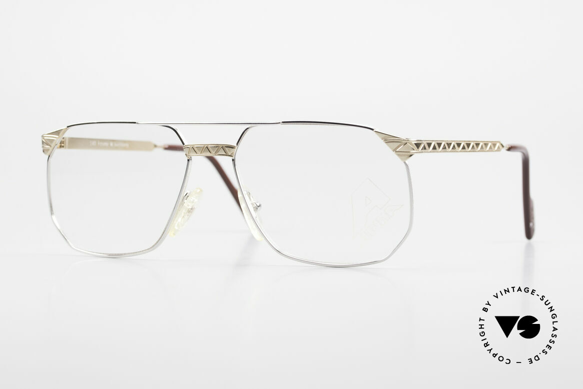 Alpina FM34 80's Designer Frame No Retro, Alpina premium vintage eyeglasses from 1988/89, Made for Men
