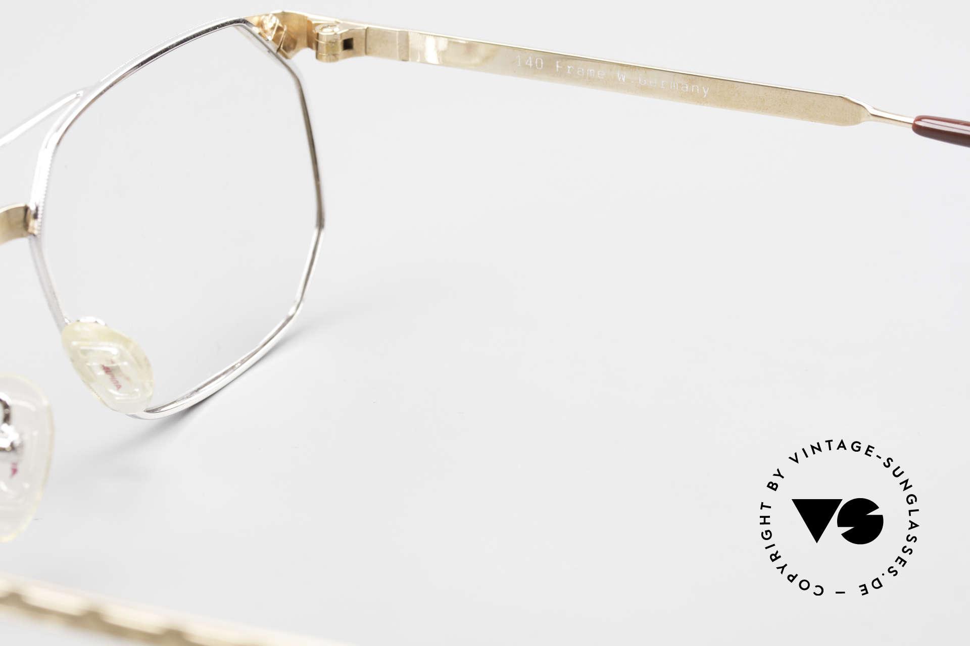 Alpina FM34 80's Designer Frame No Retro, demo lenses should be replaced with optical lenses, Made for Men