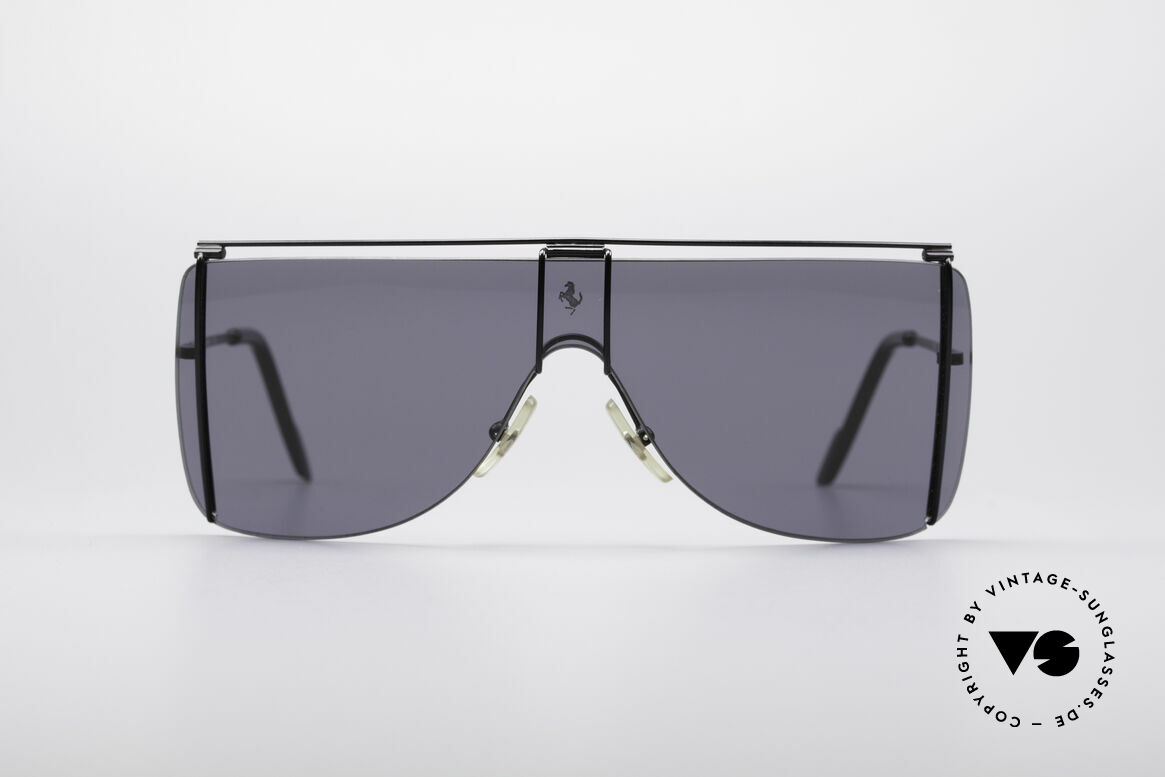 Ferrari F20 Luxury Sports Shades, sporty 90's luxury sunglasses by famous Ferrari, Made for Men