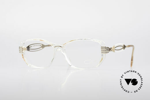 Cazal 373 Lovely 90's Eyeglasses Details