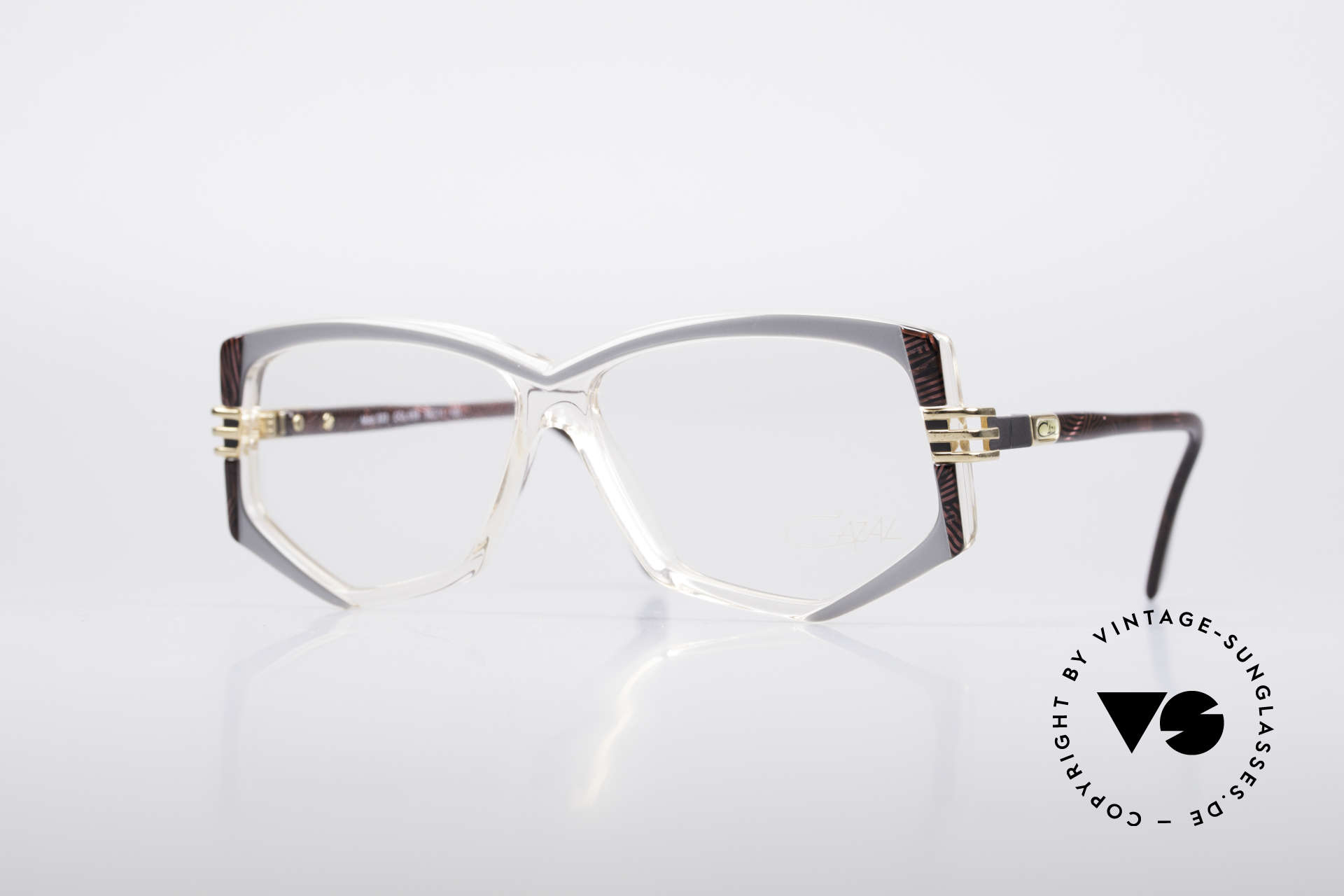 Cazal 322 80's West Germany Cazal, fancy Cazal designer eyeglasses from the late 1980s, Made for Women