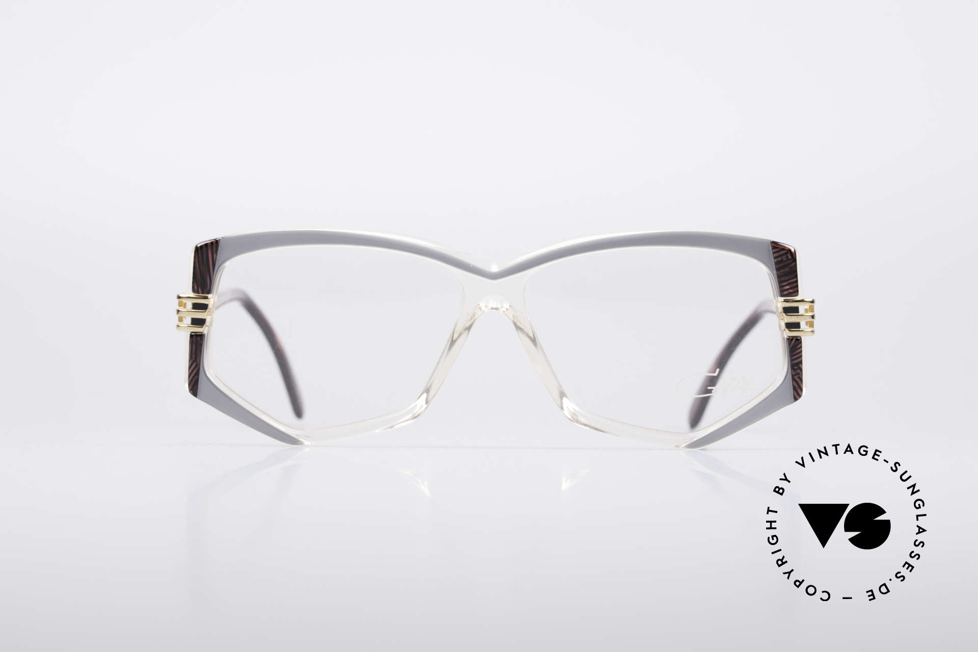 Cazal 322 80's West Germany Cazal, very complex frame coloring (check the pictures!), Made for Women