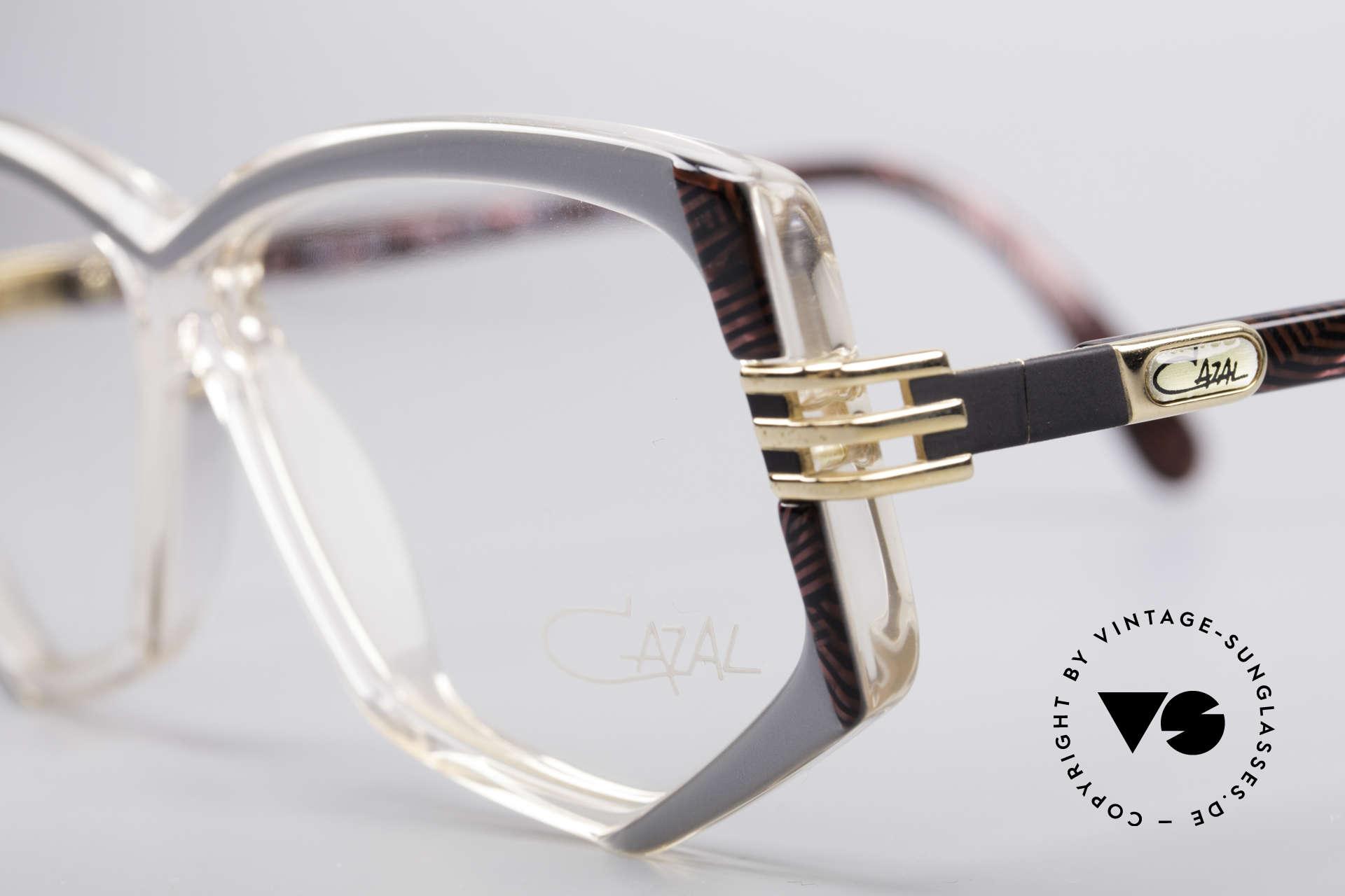 Cazal 322 80's West Germany Cazal, never worn (like all our rare vintage Cazal eyewear), Made for Women