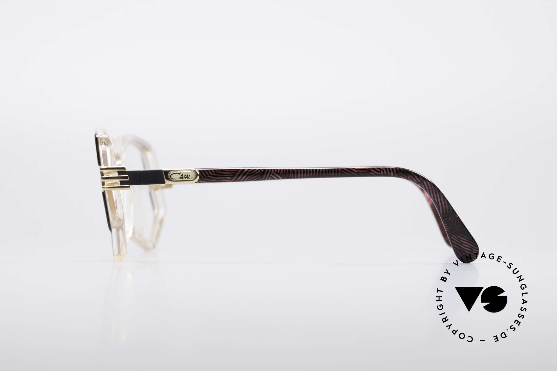 Cazal 322 80's West Germany Cazal, demo lenses should be replaced with optical lenses, Made for Women