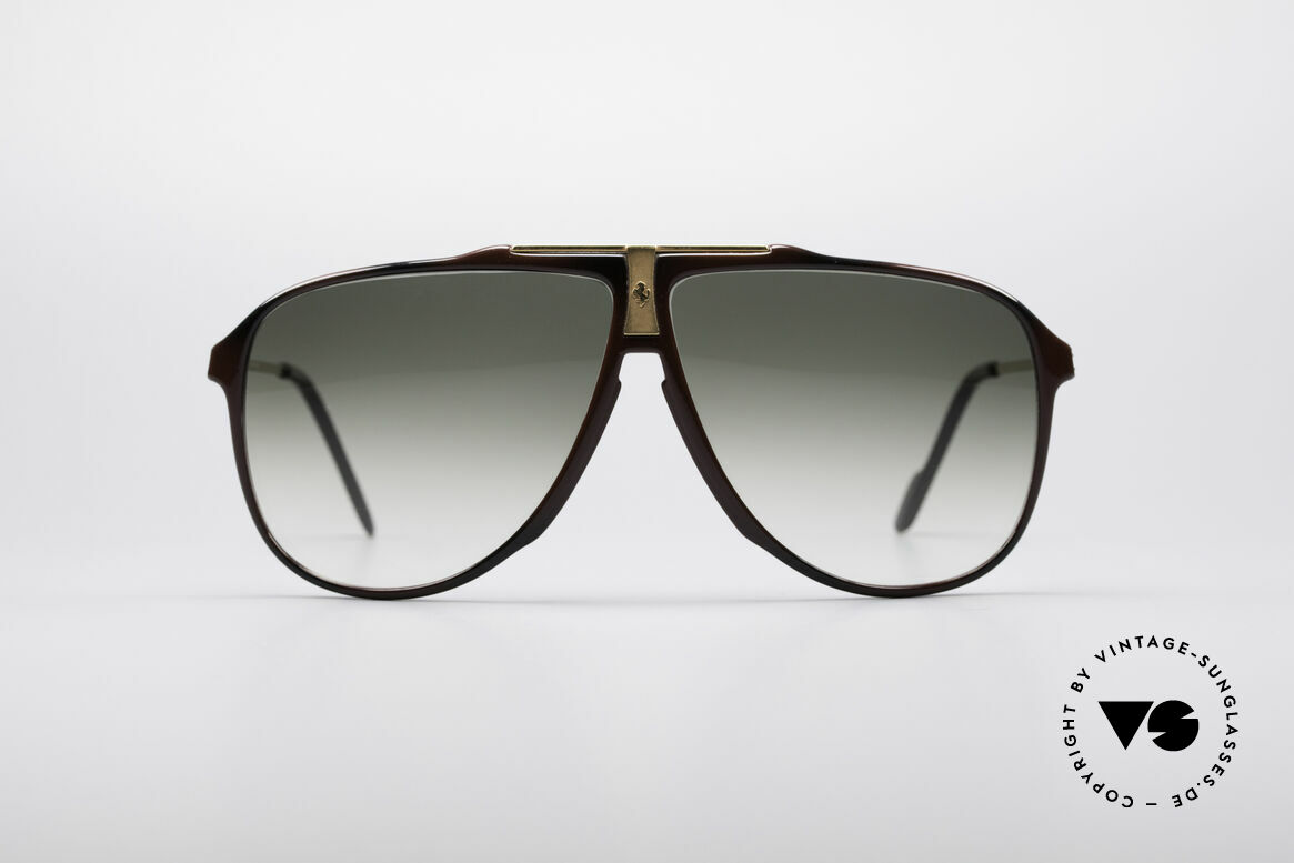 Ferrari F38 XLarge Carbon Sunglasses, very masculine aviator-sunglasses by FERRARI, Made for Men