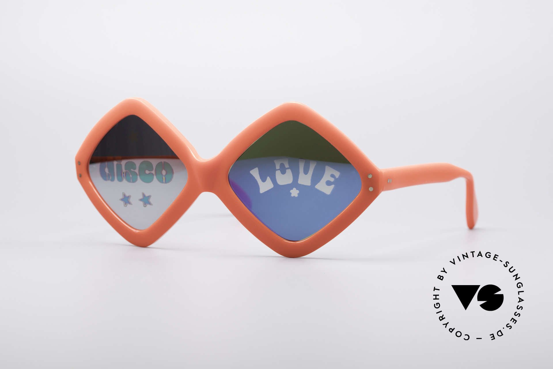 Neostyle Disco And Love Sunglasses, Neostyle Disco & Love sunglasses from app. 1972, Made for Women