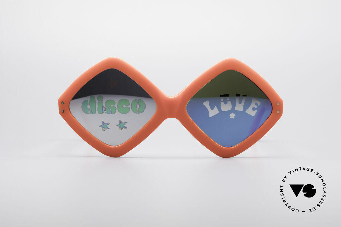 """Neostyle Disco And Love Sunglasses, more than only a vintage pair of """"Hippie glasses"""", Made for Women"""