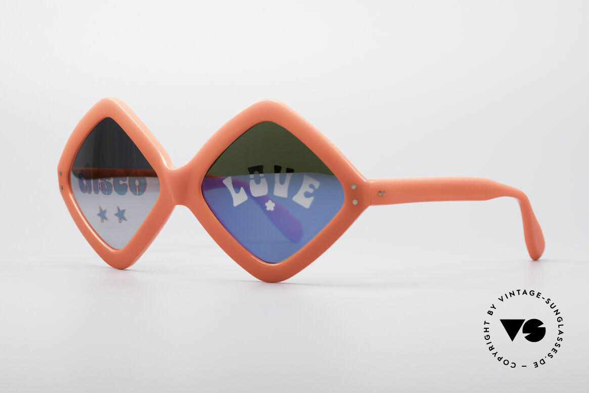 Neostyle Disco And Love Sunglasses, a true designer piece and fashion history likewise, Made for Women