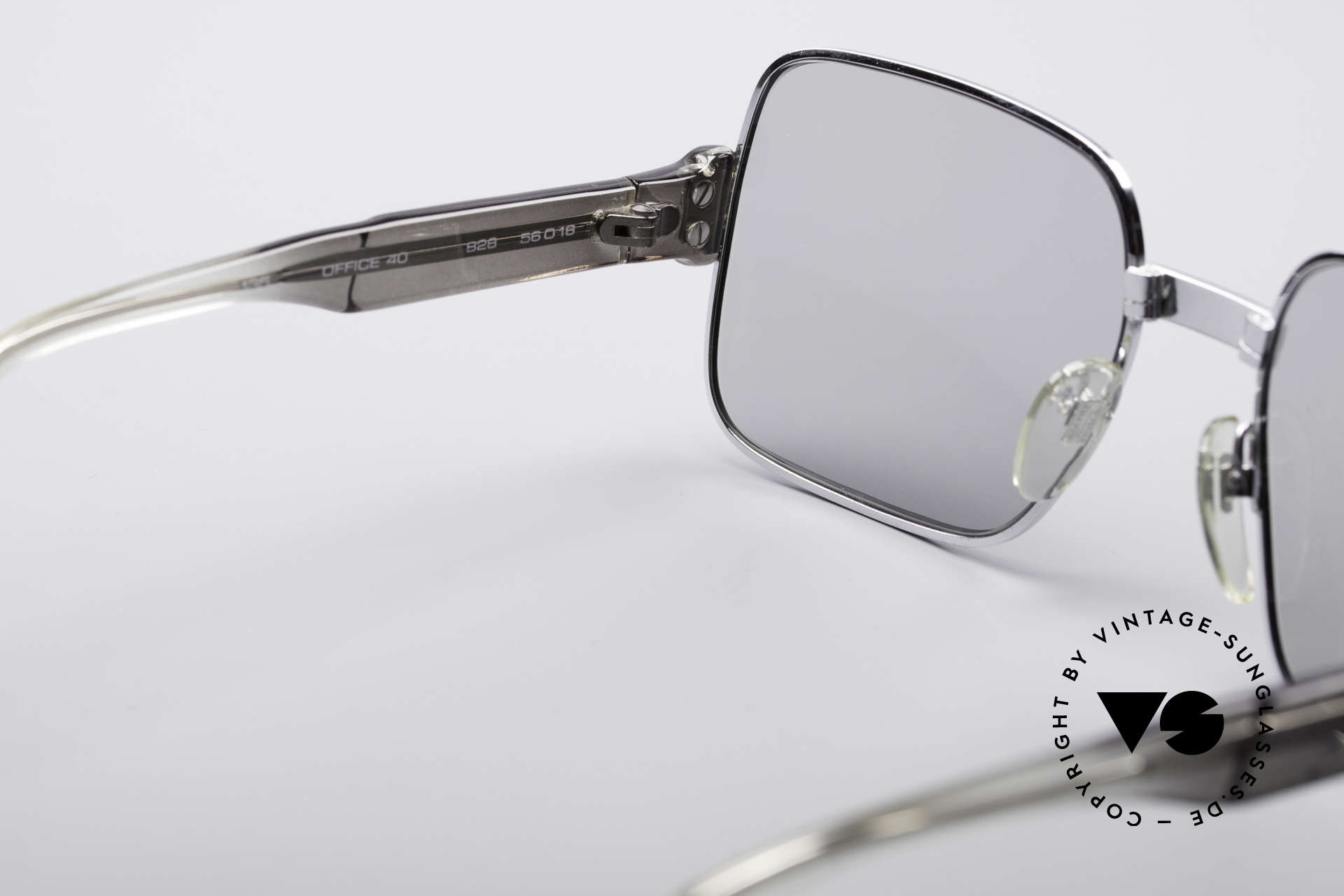 Neostyle Office 40 Old School Sunglasses, unworn (like all our vintage Neostyle sunglasses), Made for Men