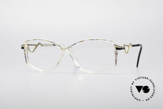 Cazal 369 90's Ladies Designer Glasses Details