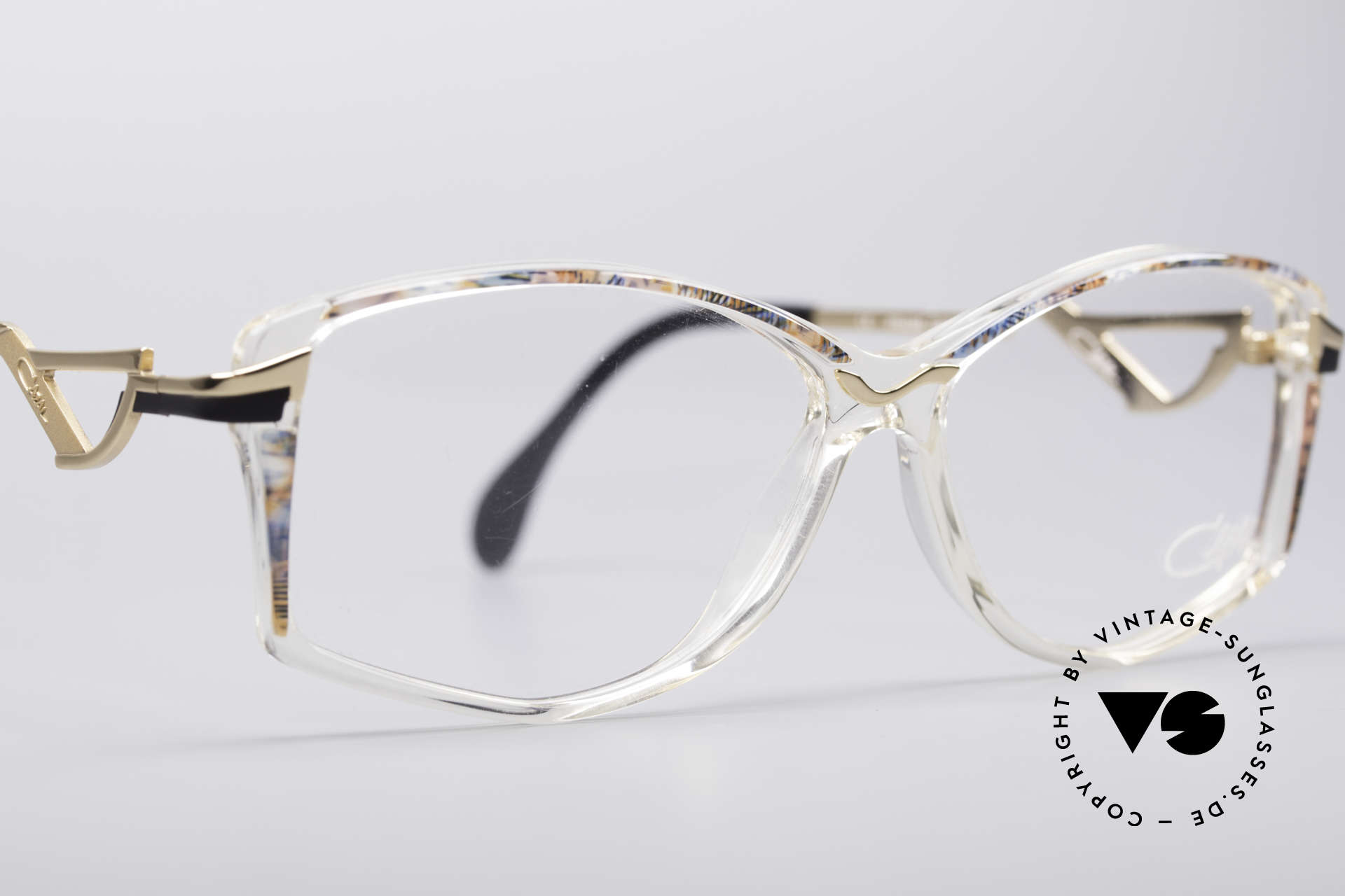 Cazal 369 90's Ladies Designer Glasses, NO RETRO GLASSES, but a fancy old 1990's ORIGINAL!, Made for Women