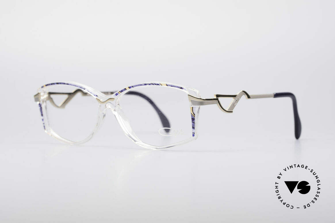 Cazal 369 90's Ladies Designer Glasses, striking temples & brilliant combination of materials, Made for Women
