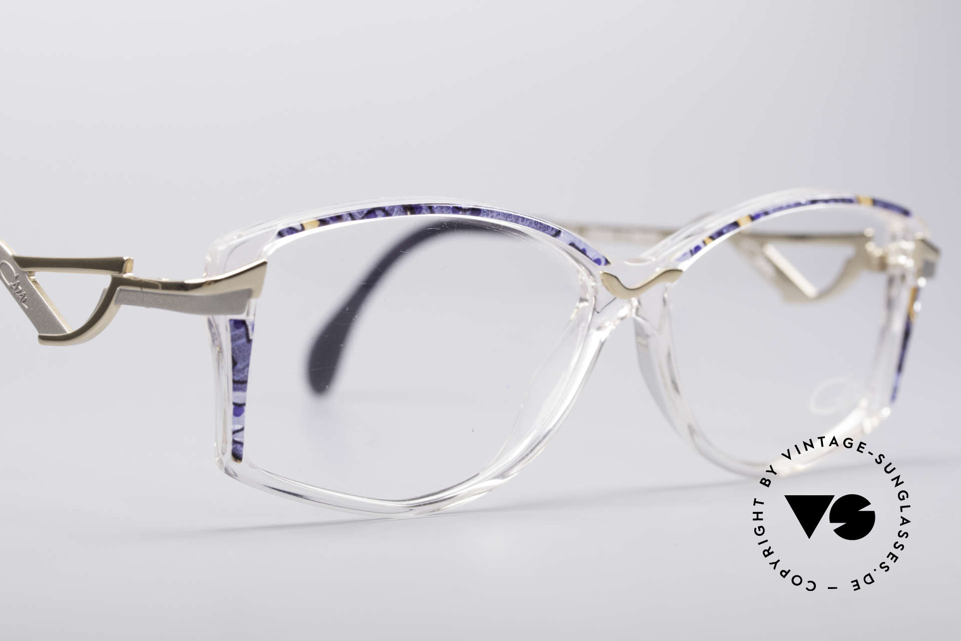 Cazal 369 90's Ladies Designer Glasses, NO RETRO GLASSES, but a fancy old 1990's ORIGINAL!, Made for Women