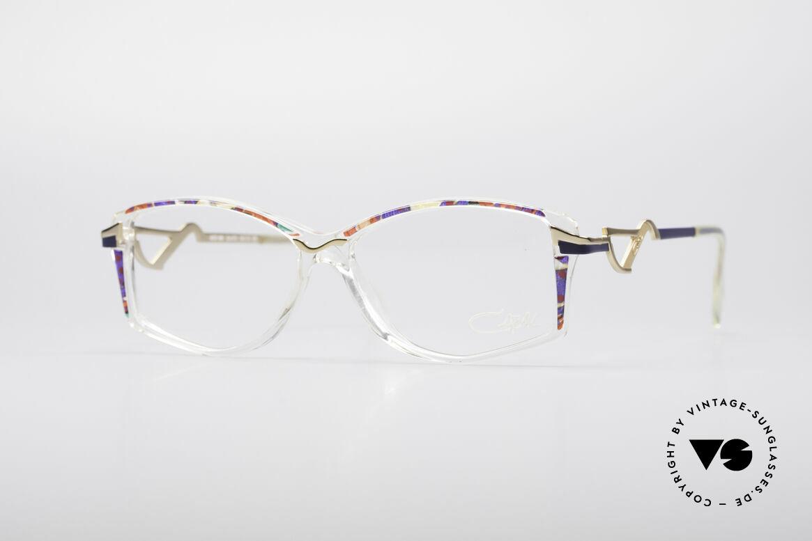Cazal 369 90's Vintage No Retro Specs, interesting Cazal design of the mid 90's; true vintage!, Made for Women