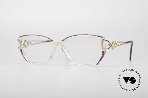 Cazal 367 90's Vintage Designer Frame Details