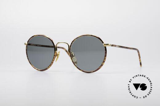 Giorgio Armani 148 Small 90's Panto Glasses Details