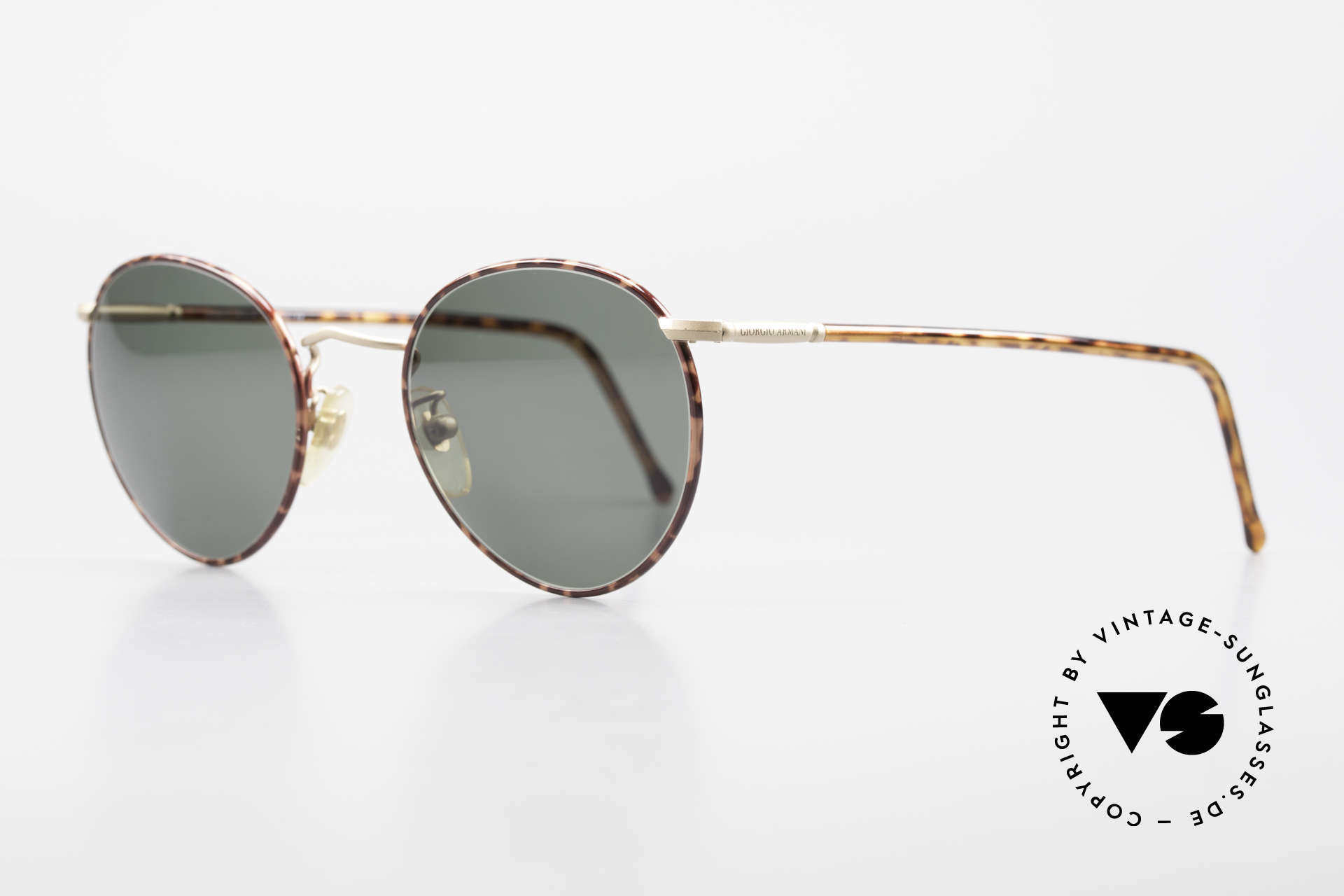 Giorgio Armani 186 No Retro Sunglasses Original, true 'gentlemen glasses' in tangible premium-quality, Made for Men