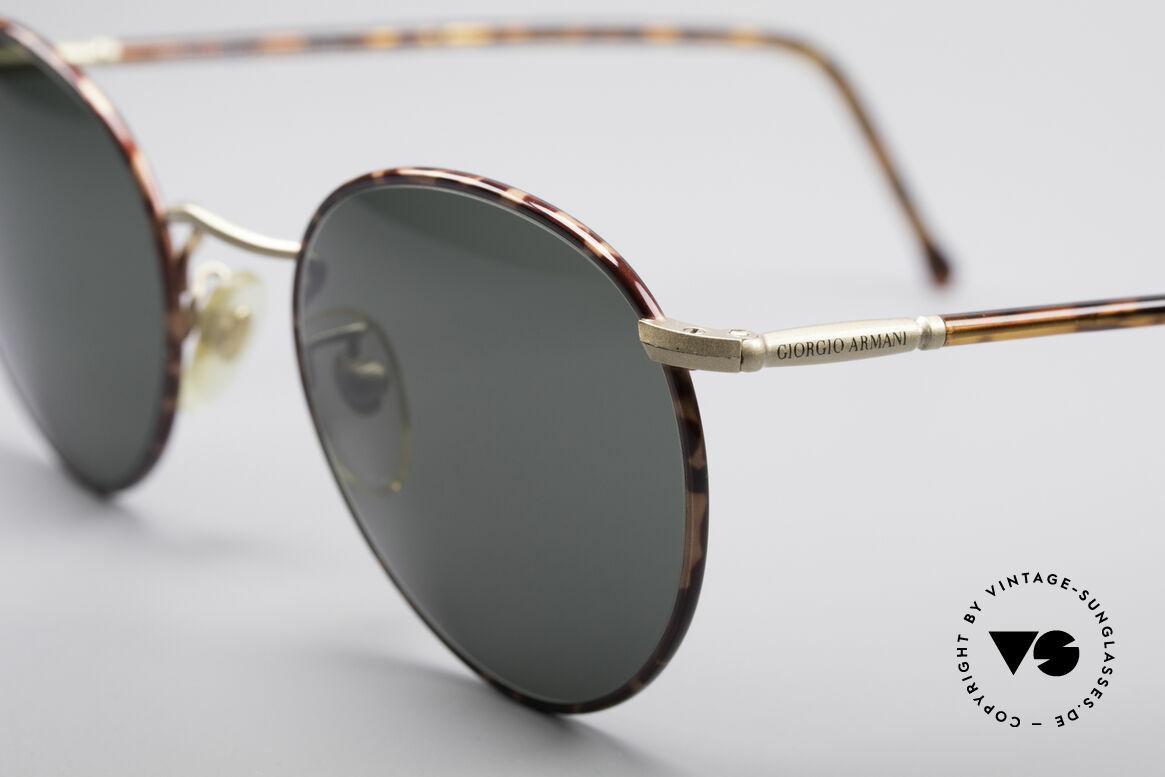 Giorgio Armani 186 No Retro Sunglasses Original, elegant color combination of chestnut brown & gold, Made for Men