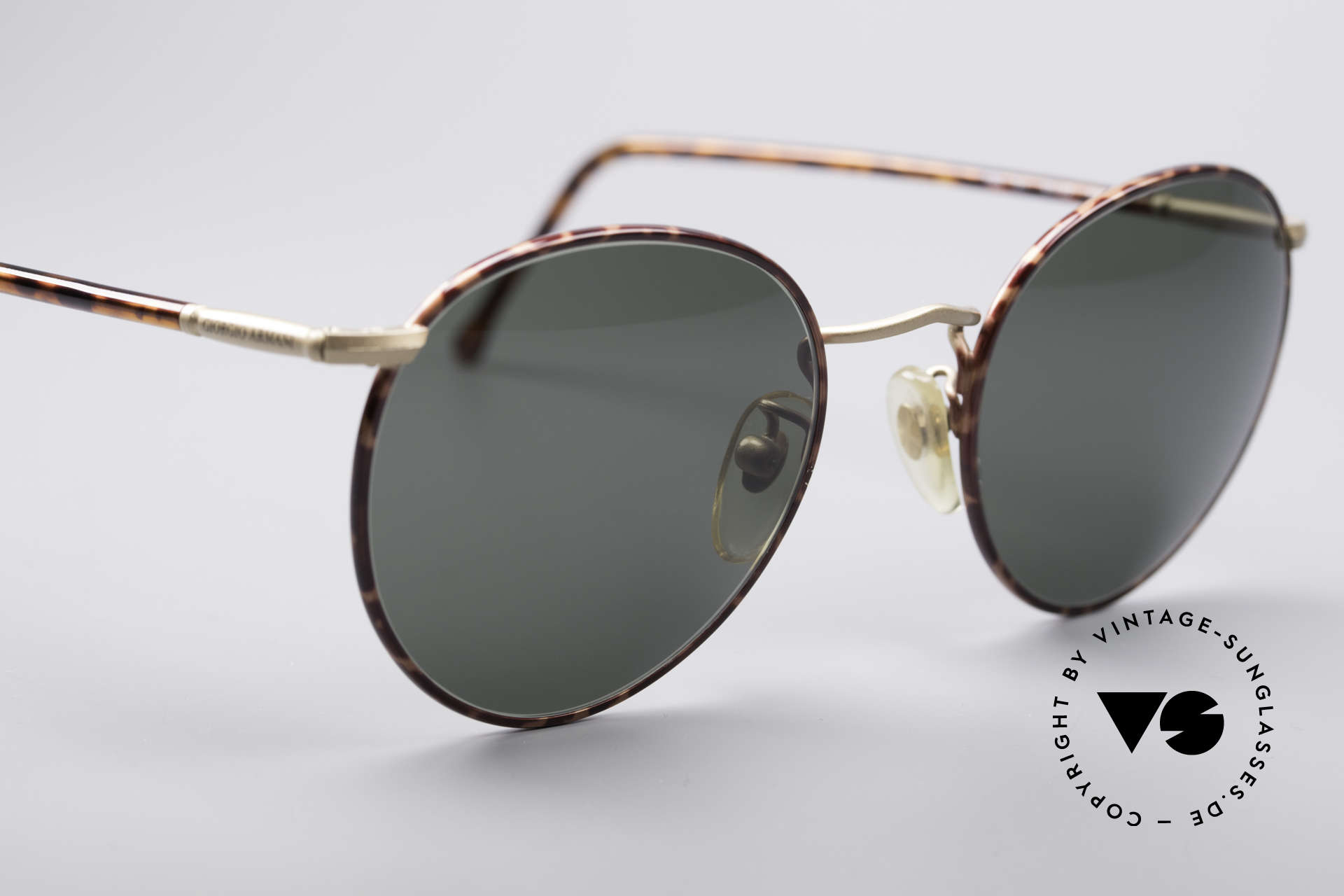 Giorgio Armani 186 Classic 90's Panto Glasses, unworn rarity (like all our vintage designer shades), Made for Men