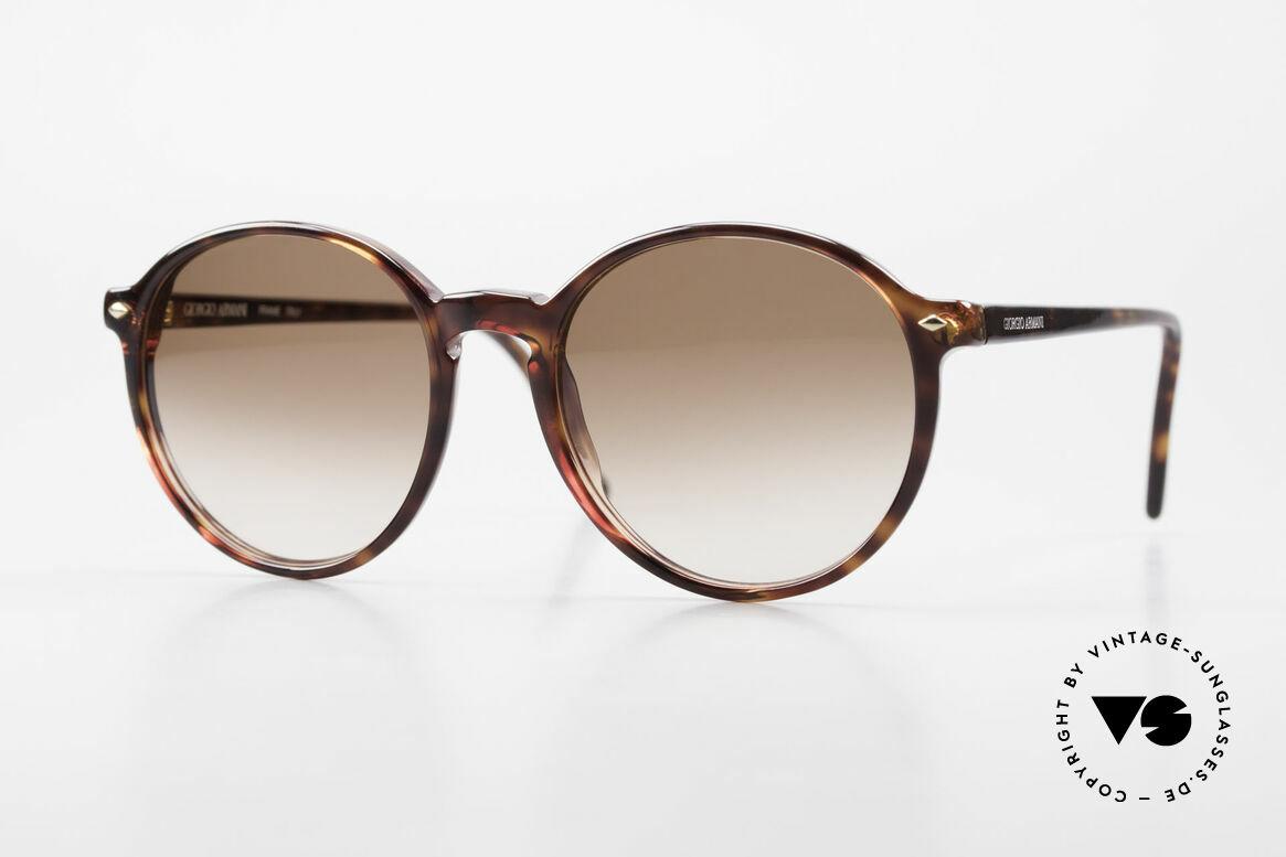 Giorgio Armani 325 No Retro Panto 90's Shades, panto frame design with classic dark tortoise pattern, Made for Men