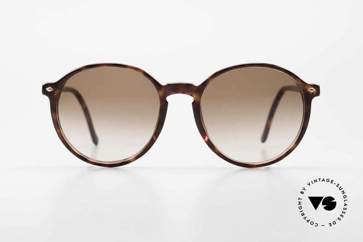 Giorgio Armani 325 No Retro Panto 90's Shades, timeless vintage Giorgio Armani designer sunglasses, Made for Men