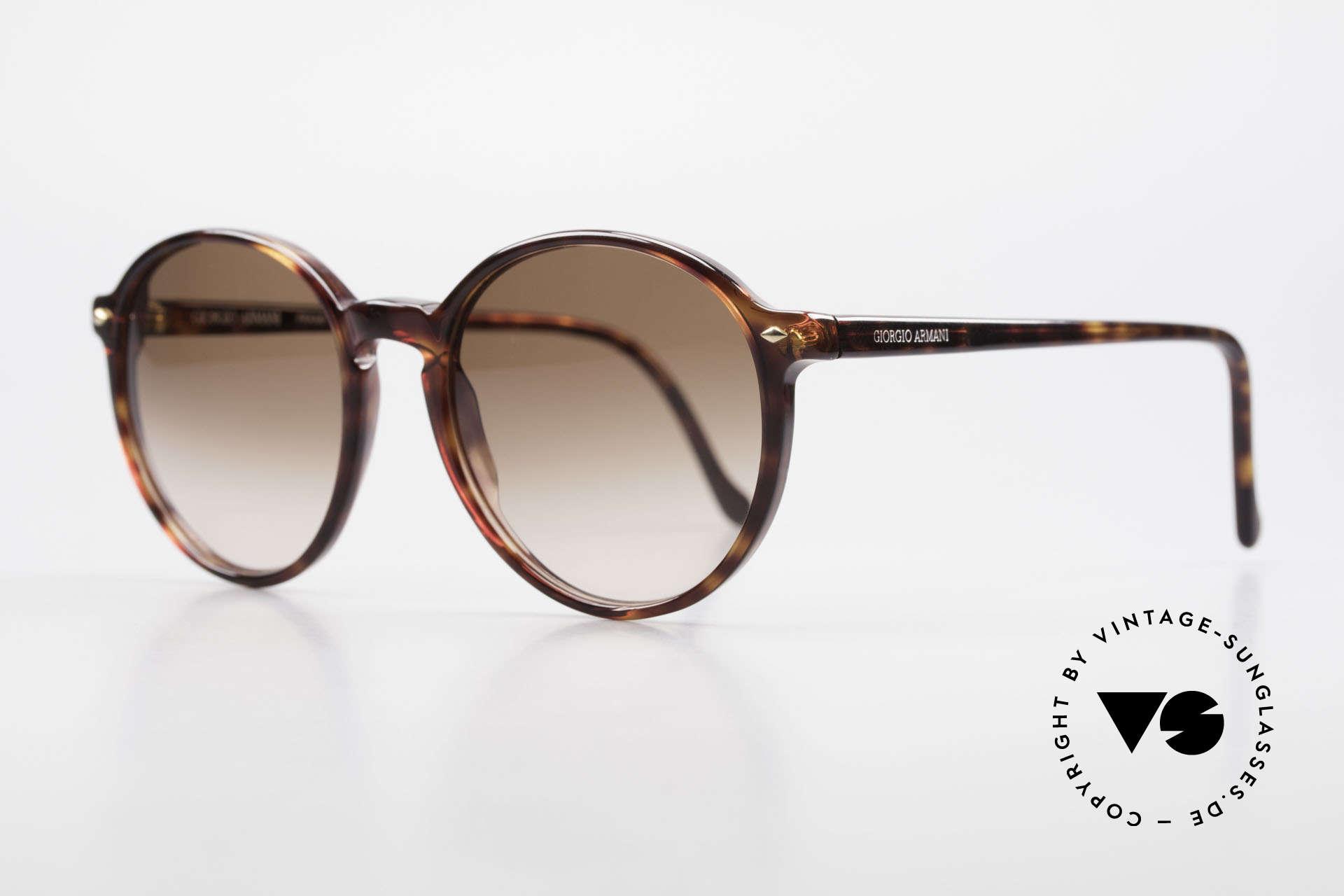 Giorgio Armani 325 No Retro Panto 90's Shades, premium Italian craftsmanship & 100% UV protection, Made for Men