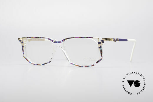 Cazal 357 90's Vintage Designer Specs Details