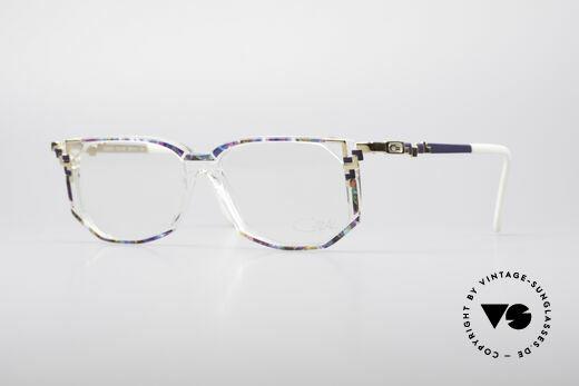 Cazal 357 Large Designer Eyeglasses Details