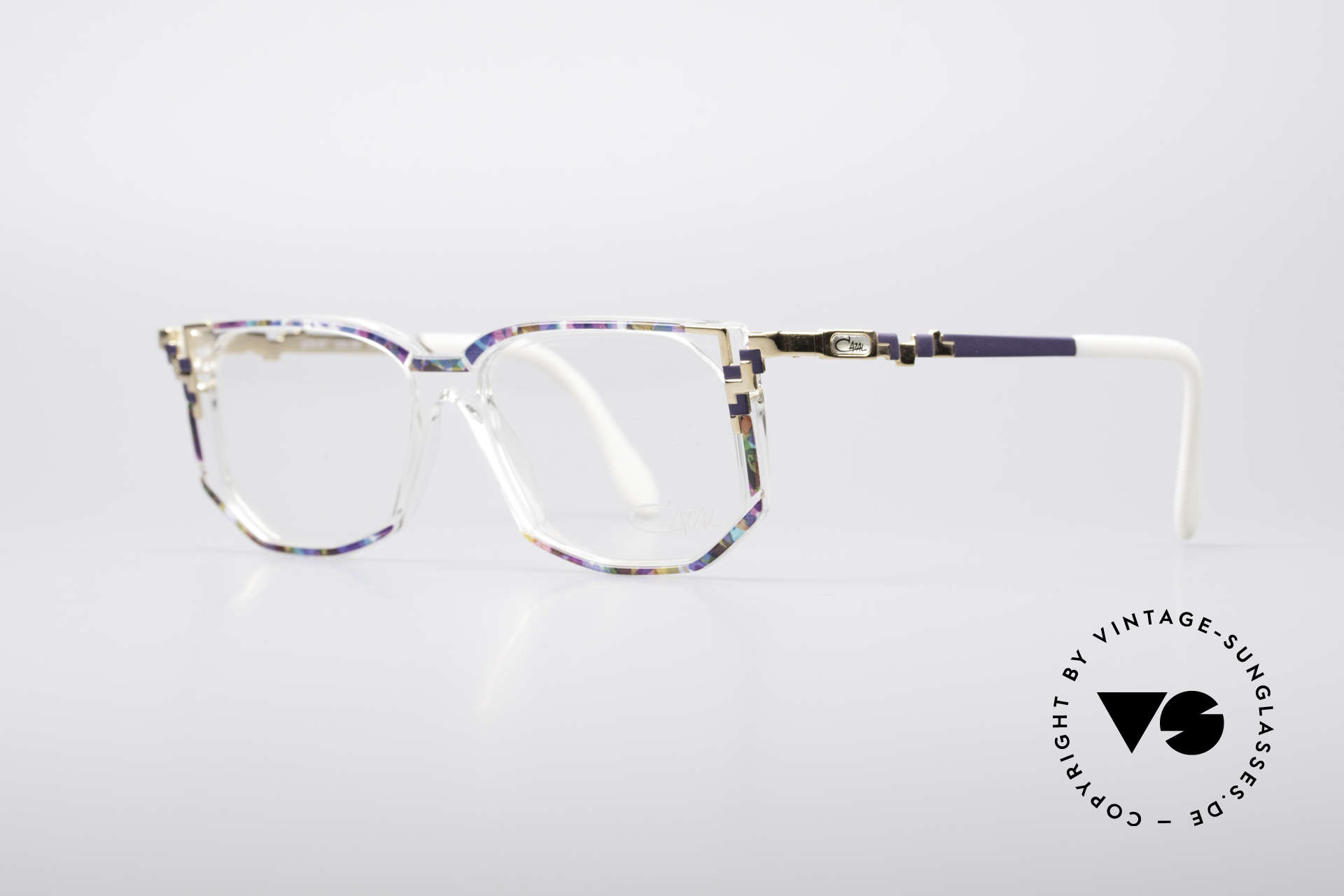 Cazal 357 Large Designer Eyeglasses, true designer piece & something really different, Made for Women