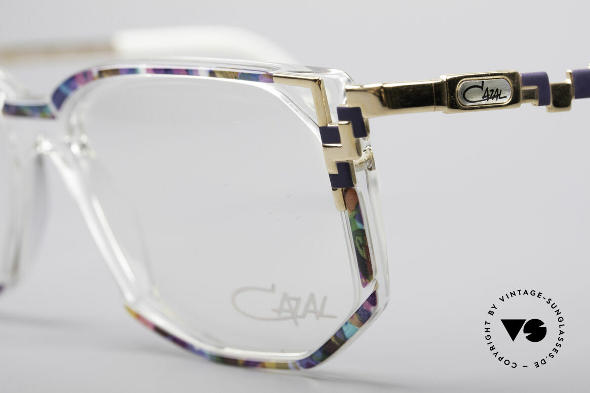 Cazal 357 Large Designer Eyeglasses, never worn (like all our vintage CAZAL rarities), Made for Women