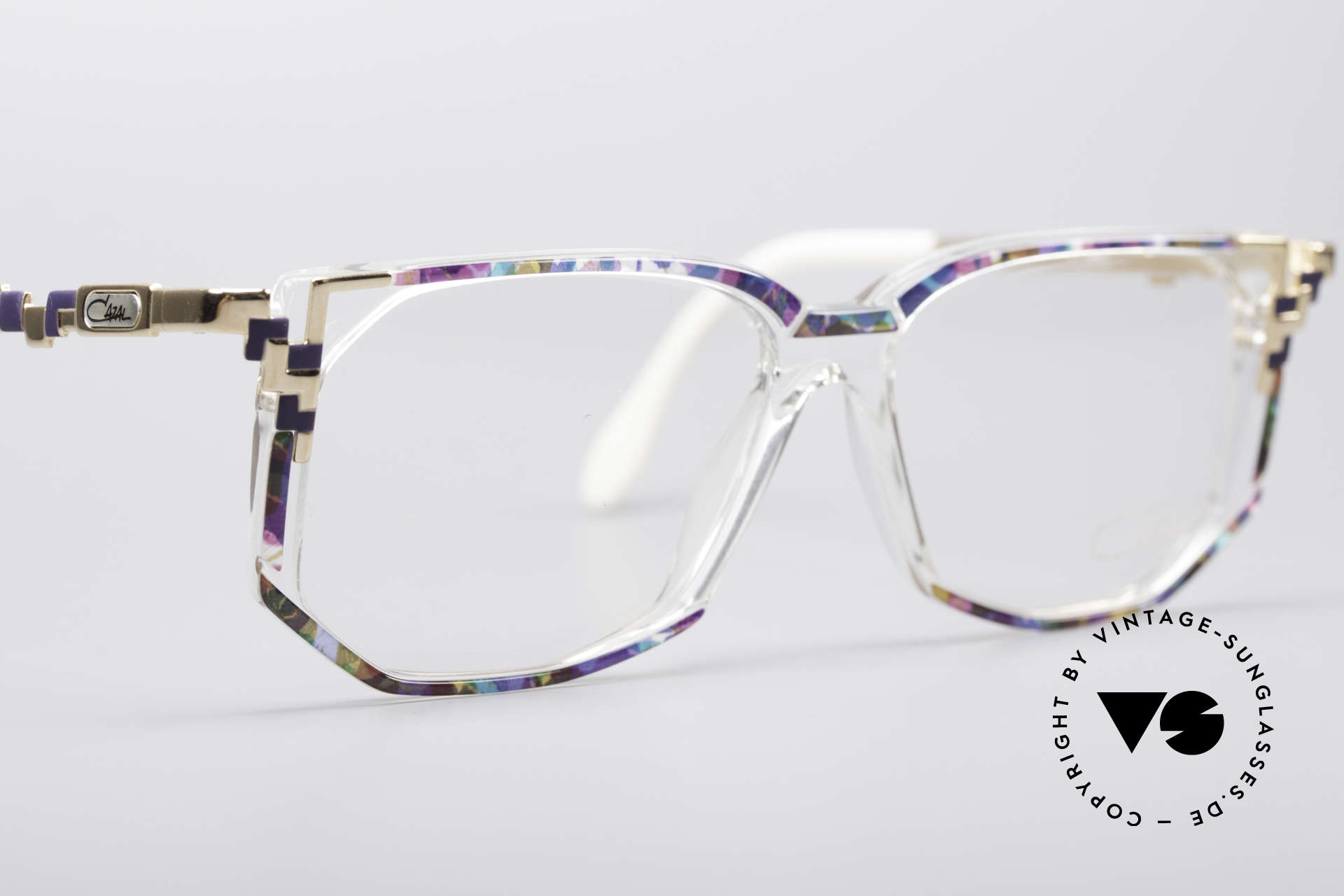 Cazal 357 Large Designer Eyeglasses, size 54/15 = 143mm width = wide frame (LARGE)!, Made for Women